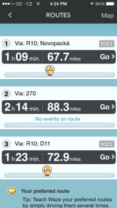 Waze Routing